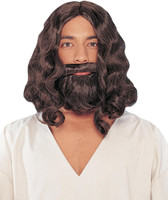 Biblical (Brown) Wig And Beard