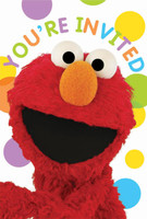 Sesame Street Party Invitations