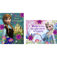 Disney Frozen - Invitations & Thank-You Postcards
