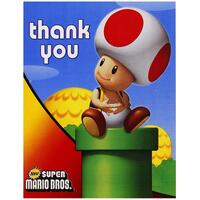 Super Mario Bros. Thank-You Notes