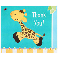 Giraffe Thank-You Notes
