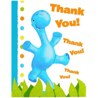 Little Dino Thank-You Notes