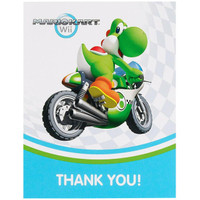 Mario Kart Wii Thank-You Notes