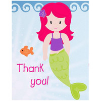 Mermaids Thank-You Notes