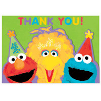 Sesame Street 1st - Thank-You Notes