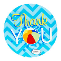 Splashin' Pool Party Thank-You Notes