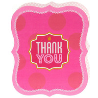 Pink! Thank-You Notes