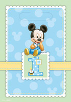 Disney Mickey's 1st Birthday Treat Bags