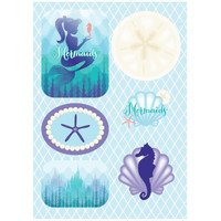 Mermaids Under the Sea Sticker Sheets