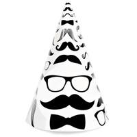 Mustache Cone Hats