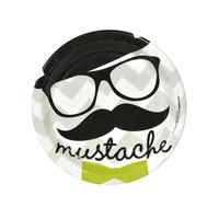 Mustache Man Dessert Plates
