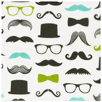 Mustache Man Lunch Napkins