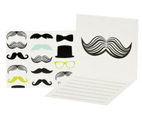 Mustache Man Thank-You Notes