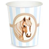 Ponies 9 oz. Paper Cups (8)