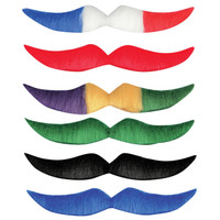Adhesive Mustache Assortment (1)