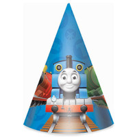 Thomas the Tank Cone Hats
