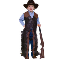Dress+AC0-Up Cowboy Child Costume