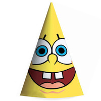 SpongeBob Cone Hats