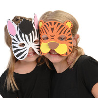 Wild Animal Foam Masks