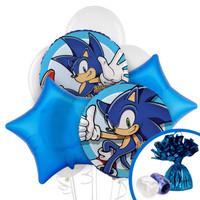 Sonic the Hedgehog Balloon Bouquet