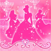 Disney Very Important Princess Dream Party Lunch Napkins