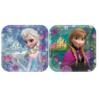 Disney Frozen Party Square Dessert Plates