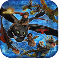 How to Train Your Dragon 2 - Dinner Plates