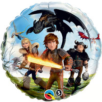 How to Train Your Dragon 2 - Foil Balloon