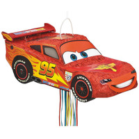 Disney Cars 3D Pull String Pinata