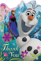 Disney Frozen Thank-You Notes
