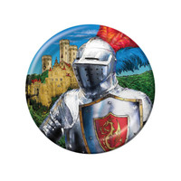 Valiant Knight Dessert Plates (8)