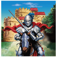 Valiant Knight Lunch Napkins (16)