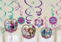 Disney Frozen Swirl Decorations