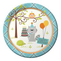 Happi Woodland Boy Dinner Plates (8)
