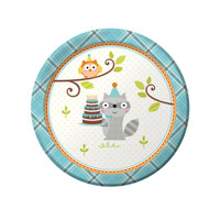 Happi Woodland Boy Dessert Plates (8)