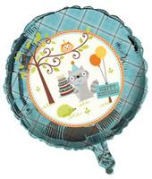Happi Woodland Boy Foil Balloon