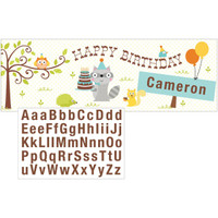 Happi Woodland Boy Giant Party Banner