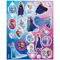 Disney Frozen Character Sticker Sheets