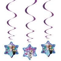 Disney Frozen Hanging Swirl Decorations