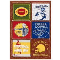 Football Game Time Sticker Sheets (4)