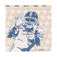 Football Game Time Beverage Napkins (20)
