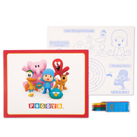 Pocoyo Activity Placemat Kit for 4