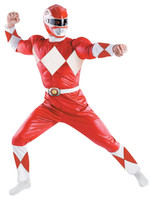 Power Rangers +AC0- Red Ranger Classic Adult Costume