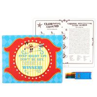 Carnival Games Activity Placemat Kit for 4