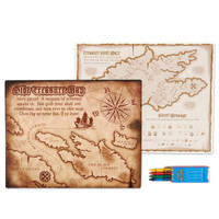 Pirates Activity Placemat Kit for 4