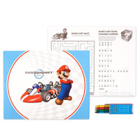Mario Kart Wii Activity Placemat Kit for 4