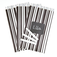 Chalkboard Paper Bags with Labels (8)