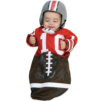 Football (Red) Deluxe Bunting Infant Costume