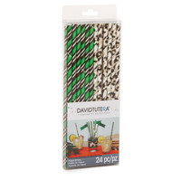David Tutera Wild Side Paper Straws (24)