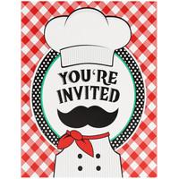 Itzza Pizza Party Invitations (8)